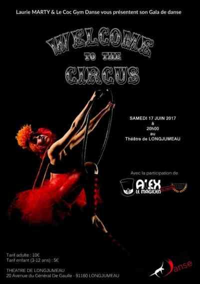affiche gala de danse COC Gym Danse Theatre de Longjumeau