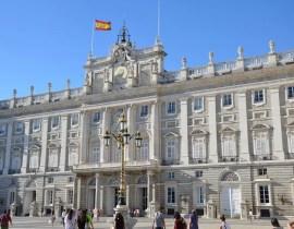 Der Palacio Real in Madrid