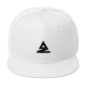 Icon Snapback Hat White