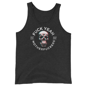 FYMFS Tank Top Charcoal-Black Triblend