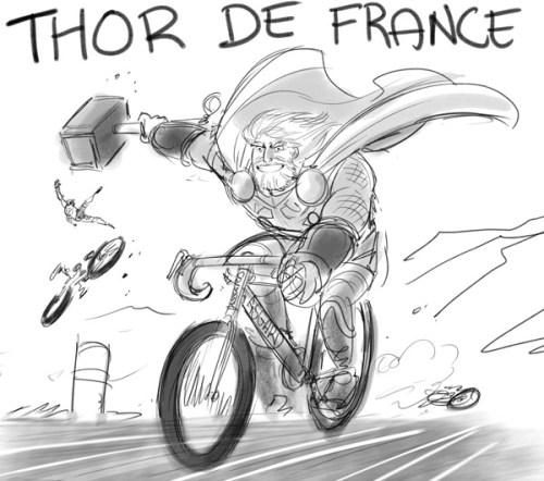 thor de france