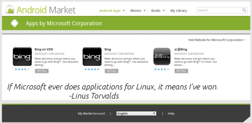 bing for Linux