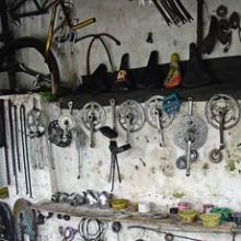 bicycle repair shop spares