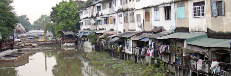 canalele din bangkok