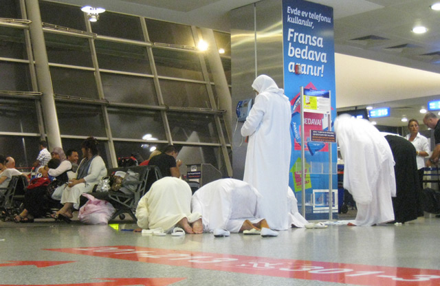 ataturk airport prayer