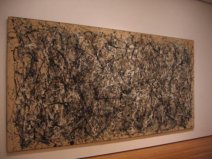 Pollock at MOMA NY