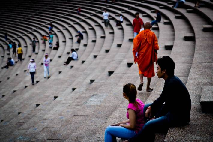 Buddhist - Photo by Alex Leonard