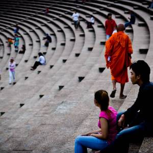 Buddhist - Photo by Alex Leonard