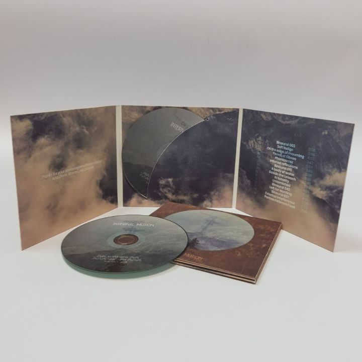 Photo of the new CD, Internal Motion, by Dronal.