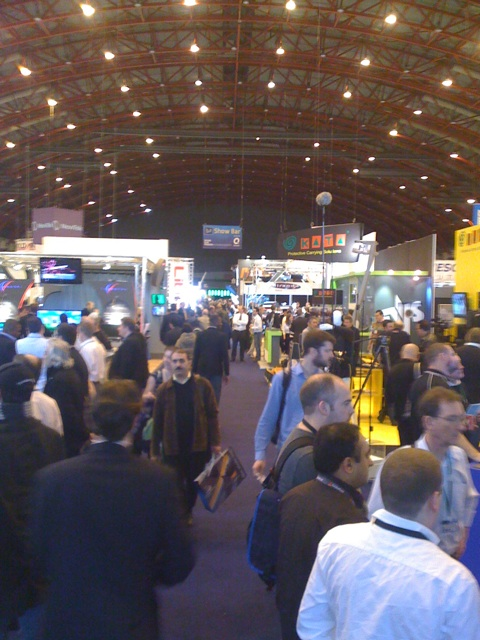 A busy Broadcast Video Expo 2009