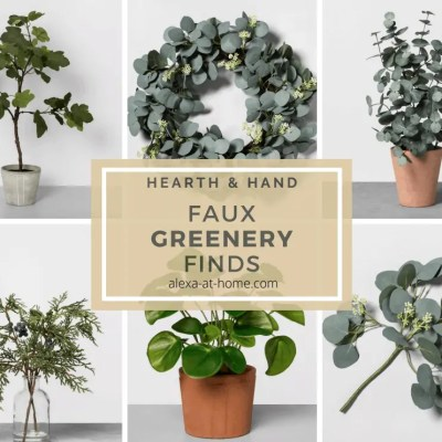Faux Greenery Finds by Hearth & Hand™