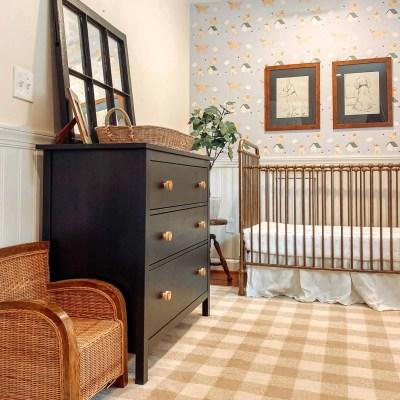 Baby Boy Golden Retriever Themed Nursery