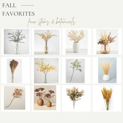 Natural and Organic Fall Decorating Inspiration