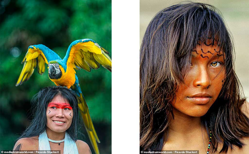 Jornal britânico destaca o incrível trabalho do fotógrafo Ricardo Stuckert  com tribos indígenas do Brasil