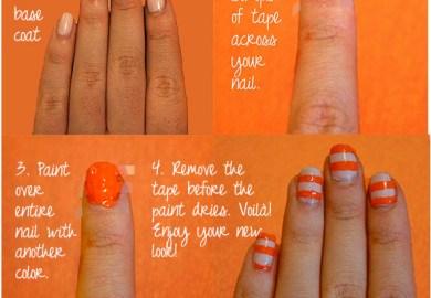 Nail Art Design With Procedure