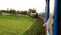 Farmers spotted on the Circular Railway route.