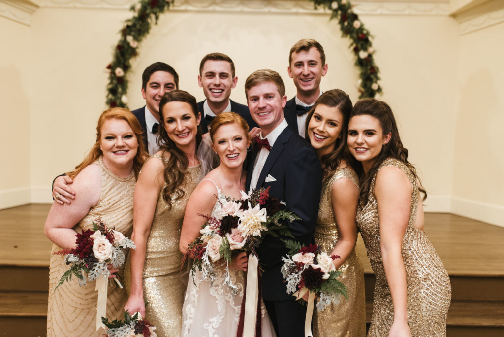 New Years Eve Wedding at Bella Woods – Dallas Fort Worth Wedding Planner | Alexa Kay Events
