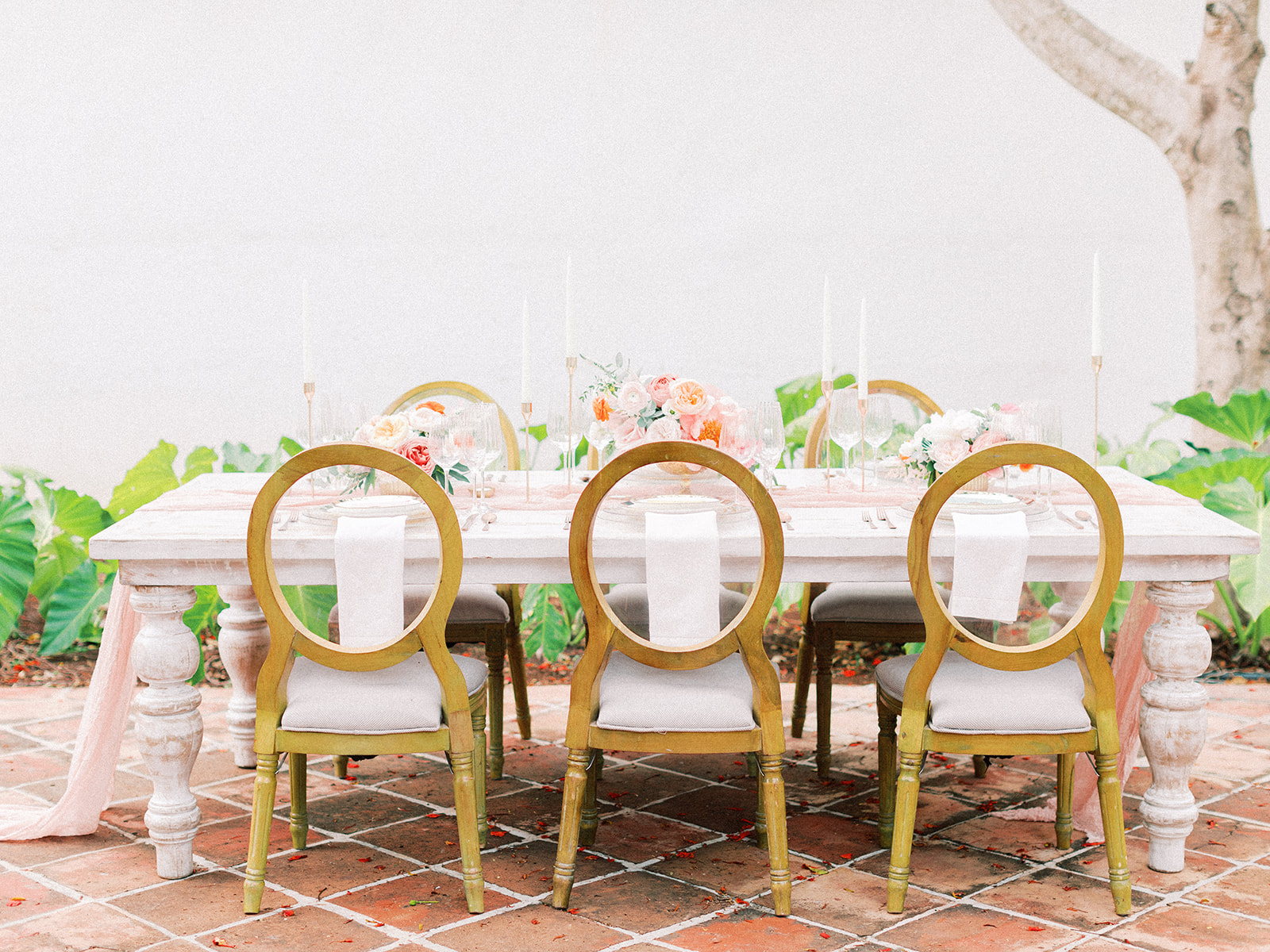 Wedding table chairs: Beach Wedding Inspiration | Dominican Republic