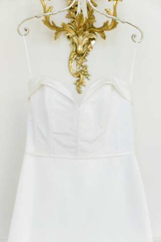 Sweetheart neckline wedding dress: Sophisticated and Chic wedding inspiration on Alexa Kay Events