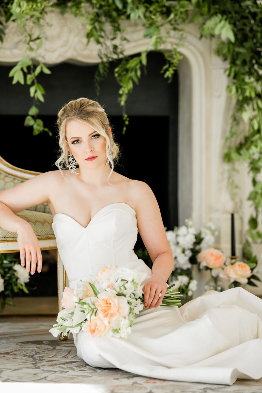 Sophisticated bridal fashion: Sophisticated and Chic wedding inspiration on Alexa Kay Events