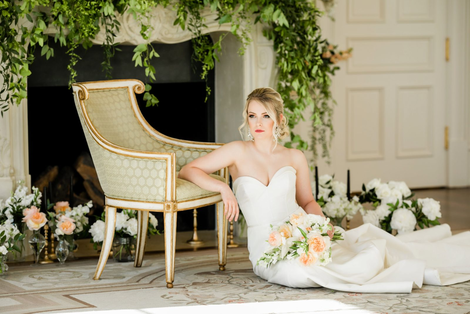 Spring wedding inspiration: Sophisticated and Chic wedding inspiration on Alexa Kay Events