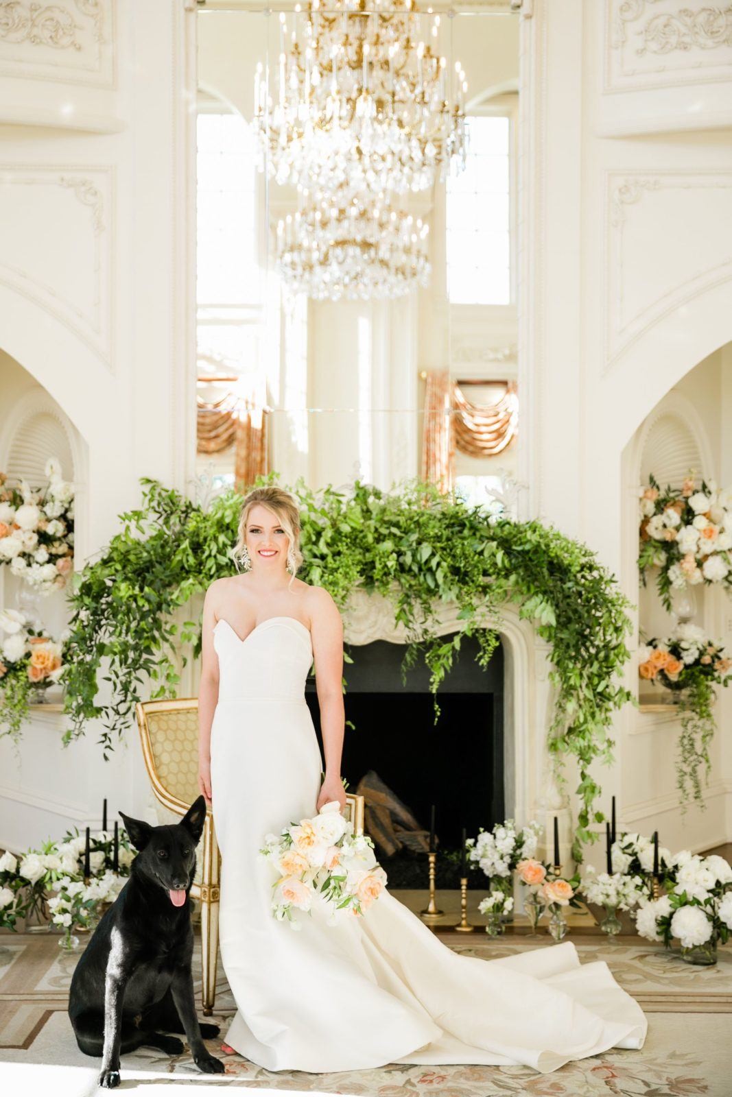 Haute Floral: Sophisticated and Chic wedding inspiration on Alexa Kay Events