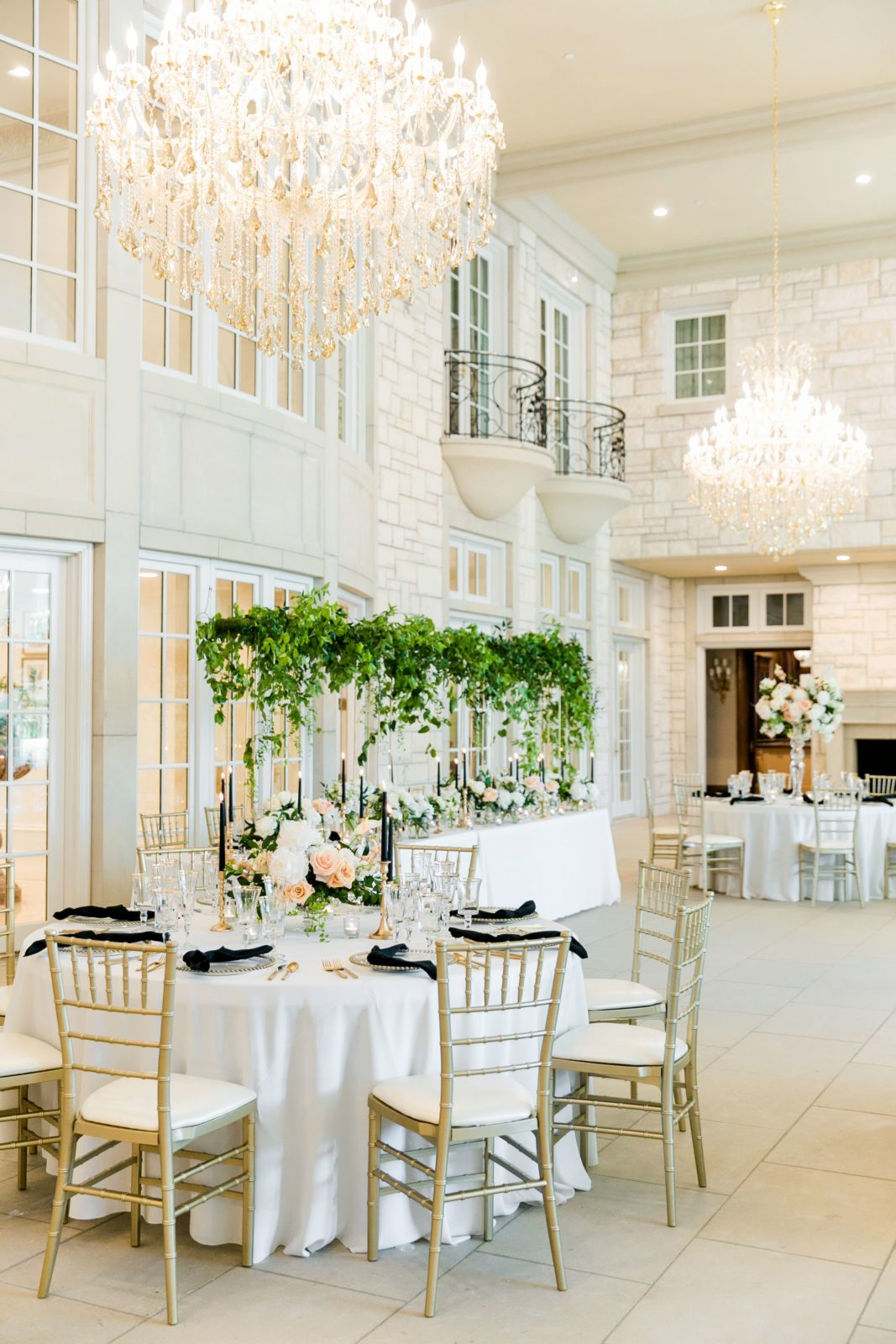 Ballroom wedding inspiration: Sophisticated and Chic wedding inspiration on Alexa Kay Events