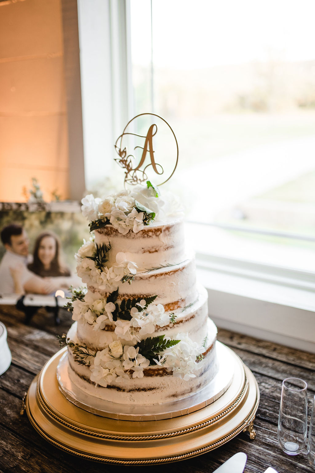 Milk and Honey Fort Worth Wedding Cake