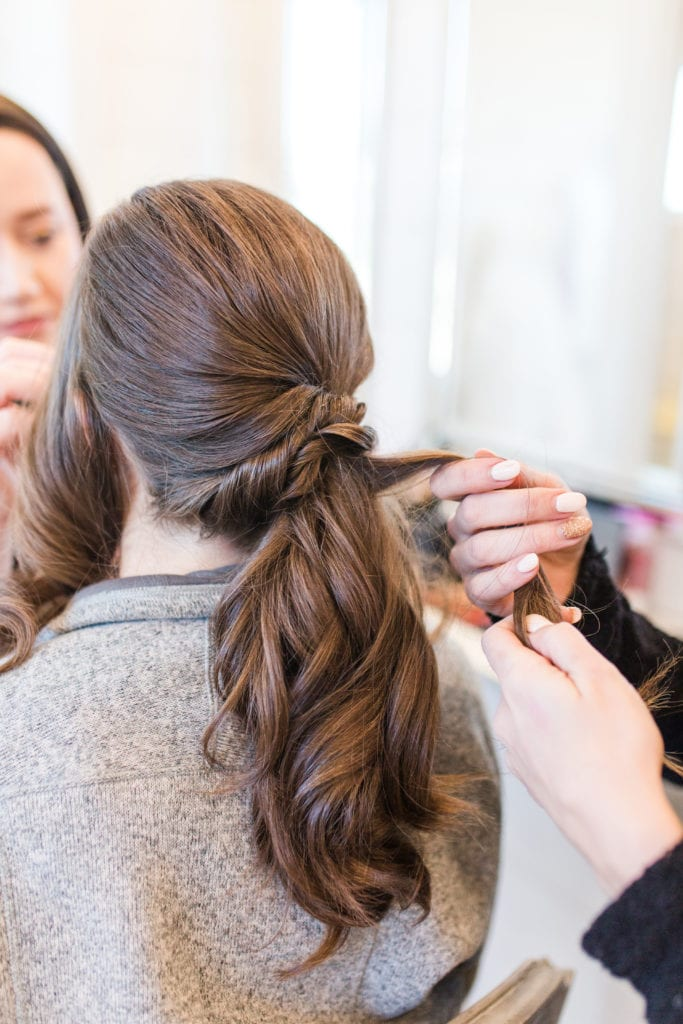 Wedding updo: Get to know the ladies of Brite Bar Beauty on Alexa Kay Events!