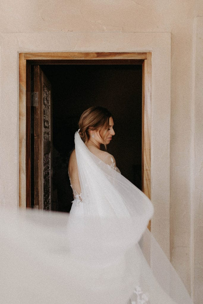 Bridal portrait: Intimate and Charming Wedding featured on Alexa Kay Events blog