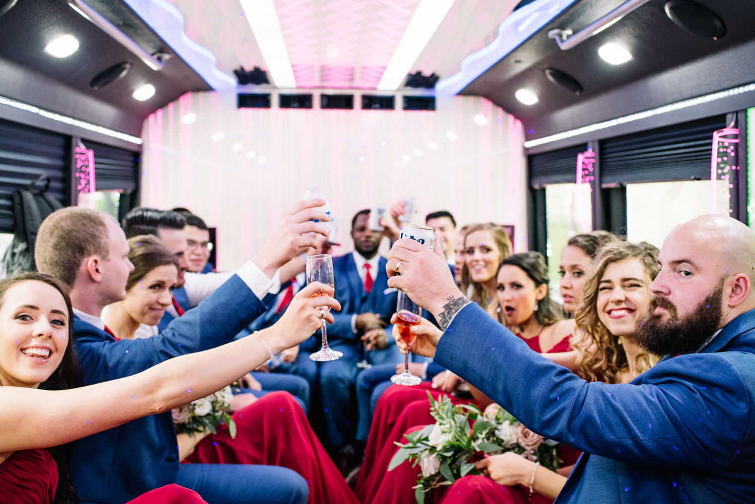 What to know when booking your wedding transportation featured on Alexa Kay Events!