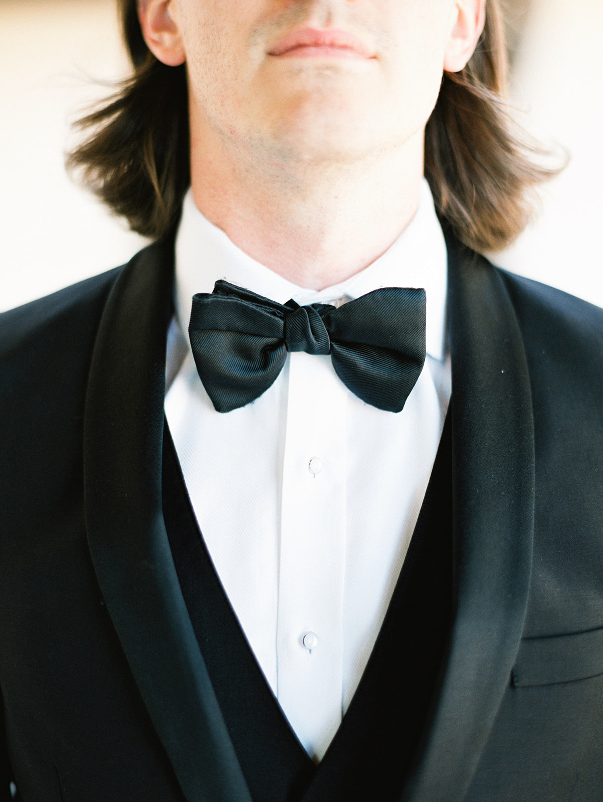Black tuxedo bow tie: Wedding details for your photographer to capture featured on Alexa Kay Events