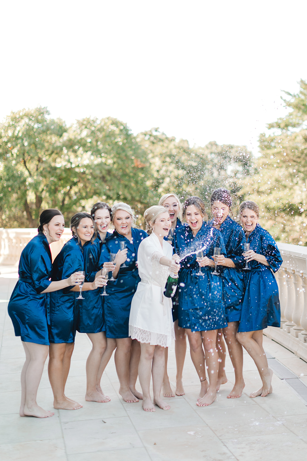 Bridal party photography: Timeless Wedding at The Olana featured on Alexa Kay Events!