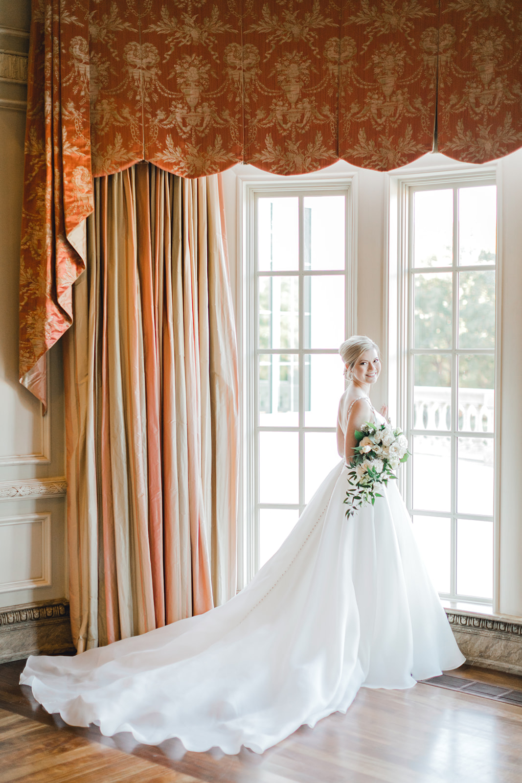 Bridal portrait: Timeless Wedding at The Olana featured on Alexa Kay Events!
