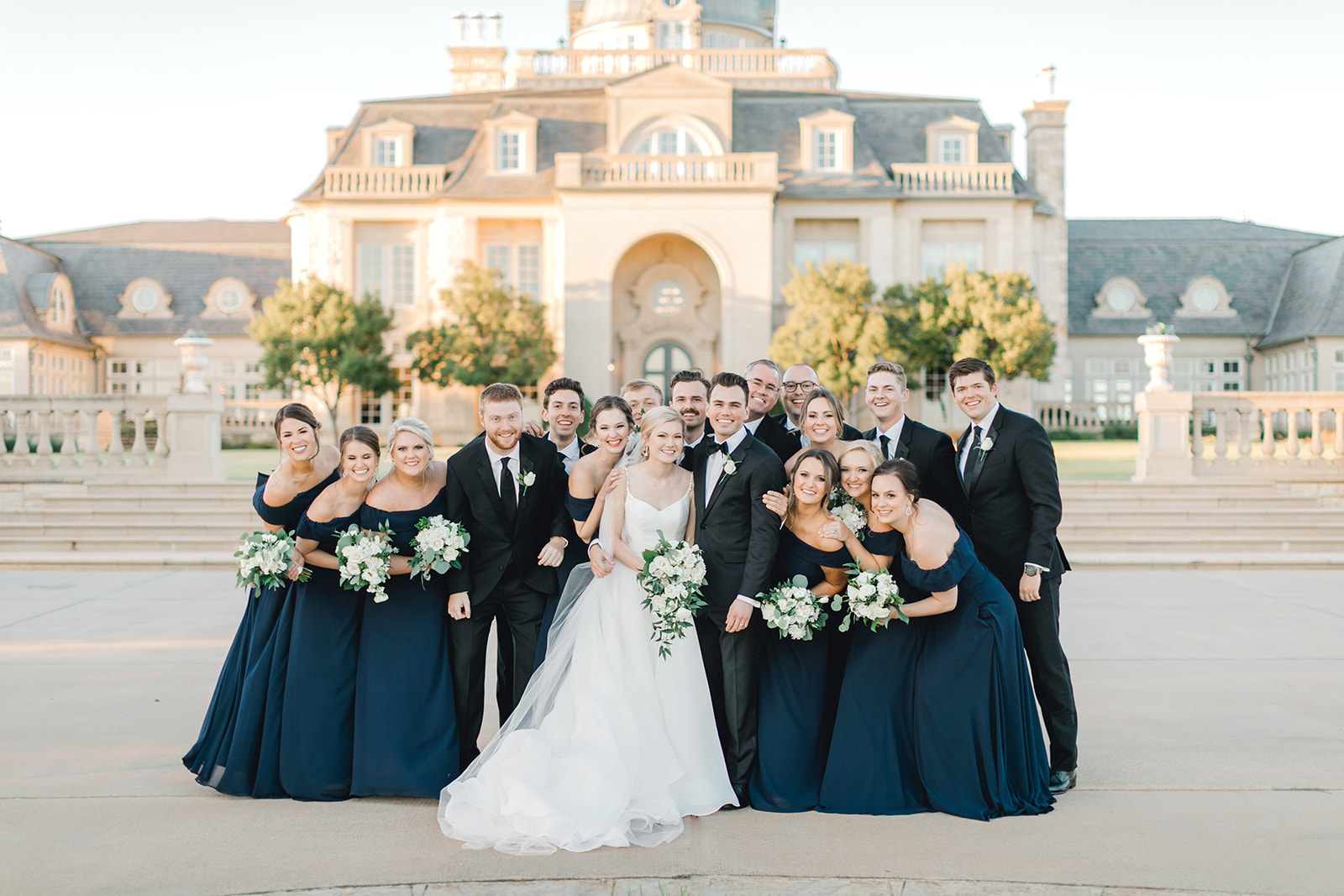Wedding party photo ideas: Timeless Wedding at The Olana featured on Alexa Kay Events!