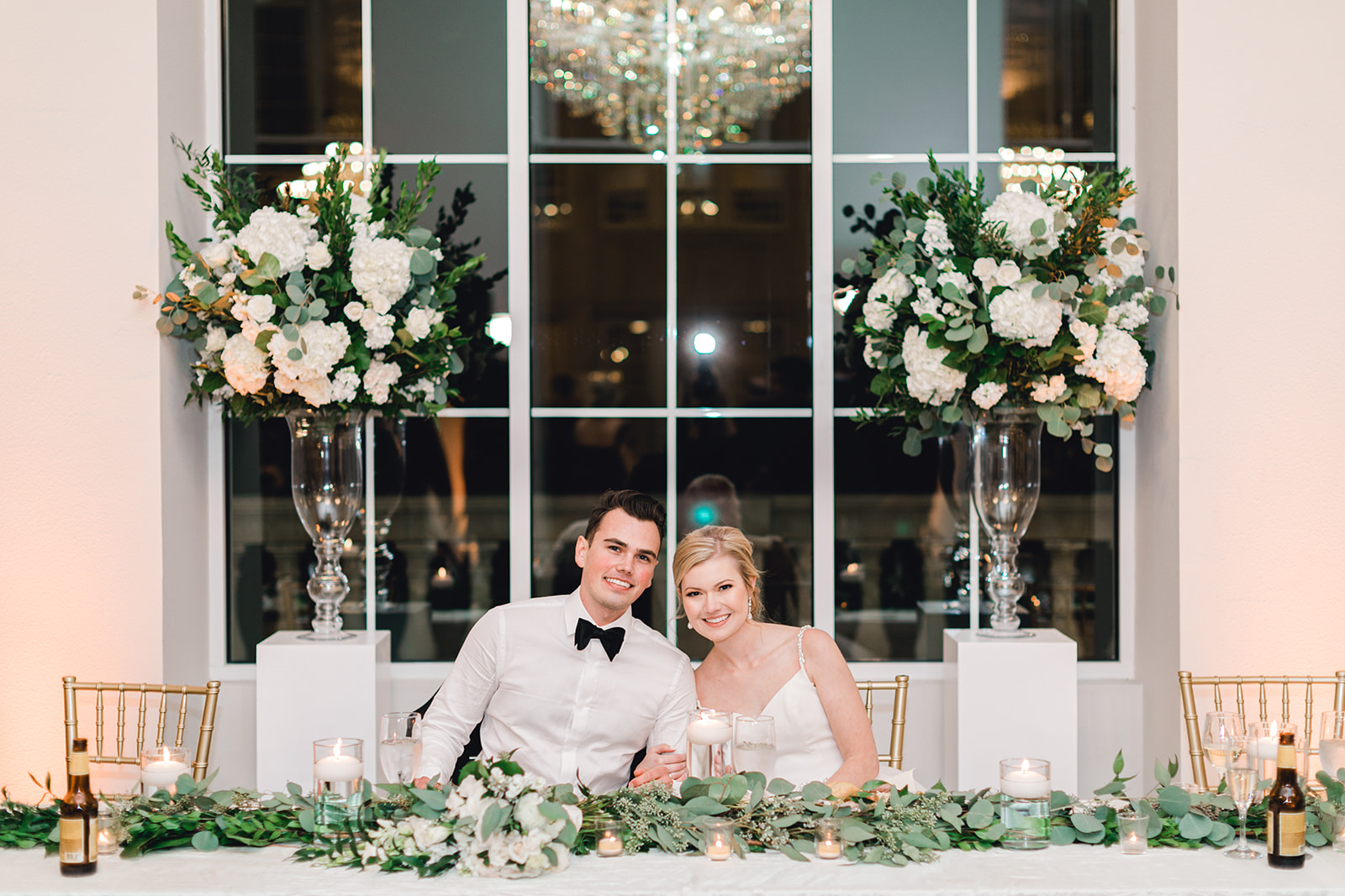 A & L Event Design Flowers: Timeless Wedding at The Olana featured on Alexa Kay Events!
