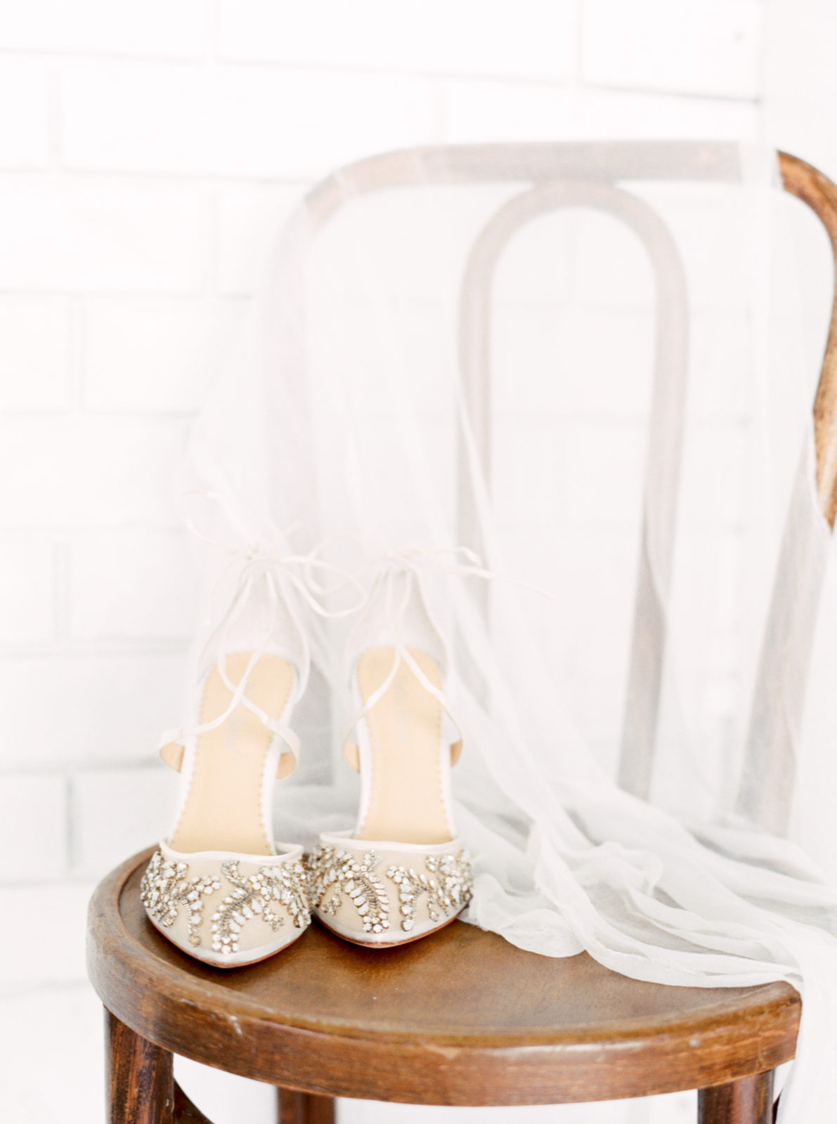 Wedding shoes: Light and airy wedding styled shoot featured on Alexa Kay Events