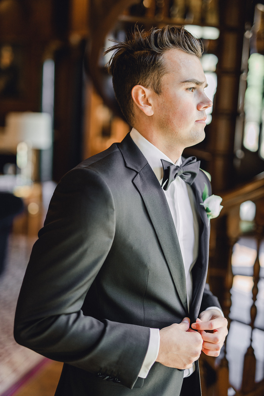 The black tux wedding tuxedo