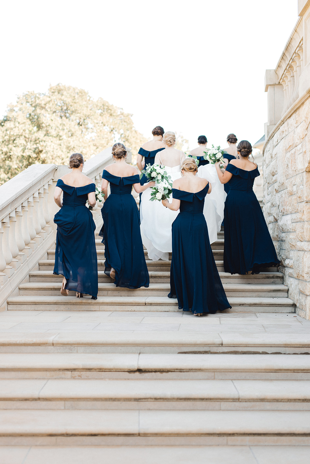 Off the shoulder bridesmaid dresses: Timeless Wedding at The Olana featured on Alexa Kay Events!