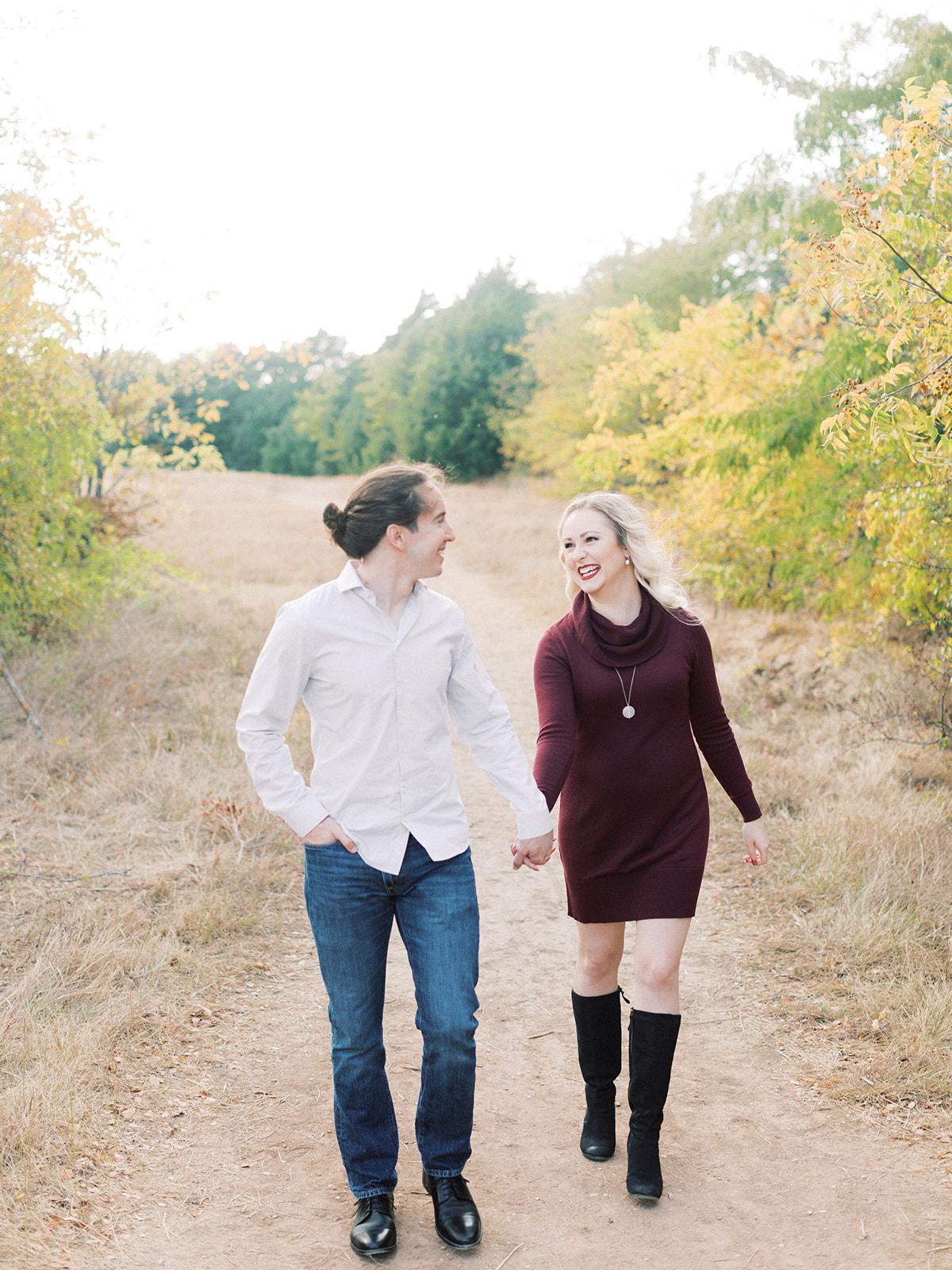 Arbor Hills Nature Preserve Engagement | Alexa Kay Events