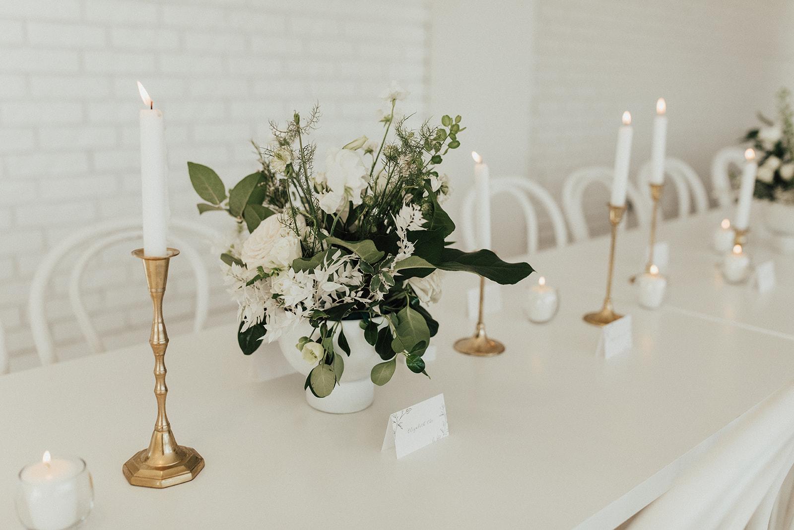 TR Florals Wedding Centerpieces