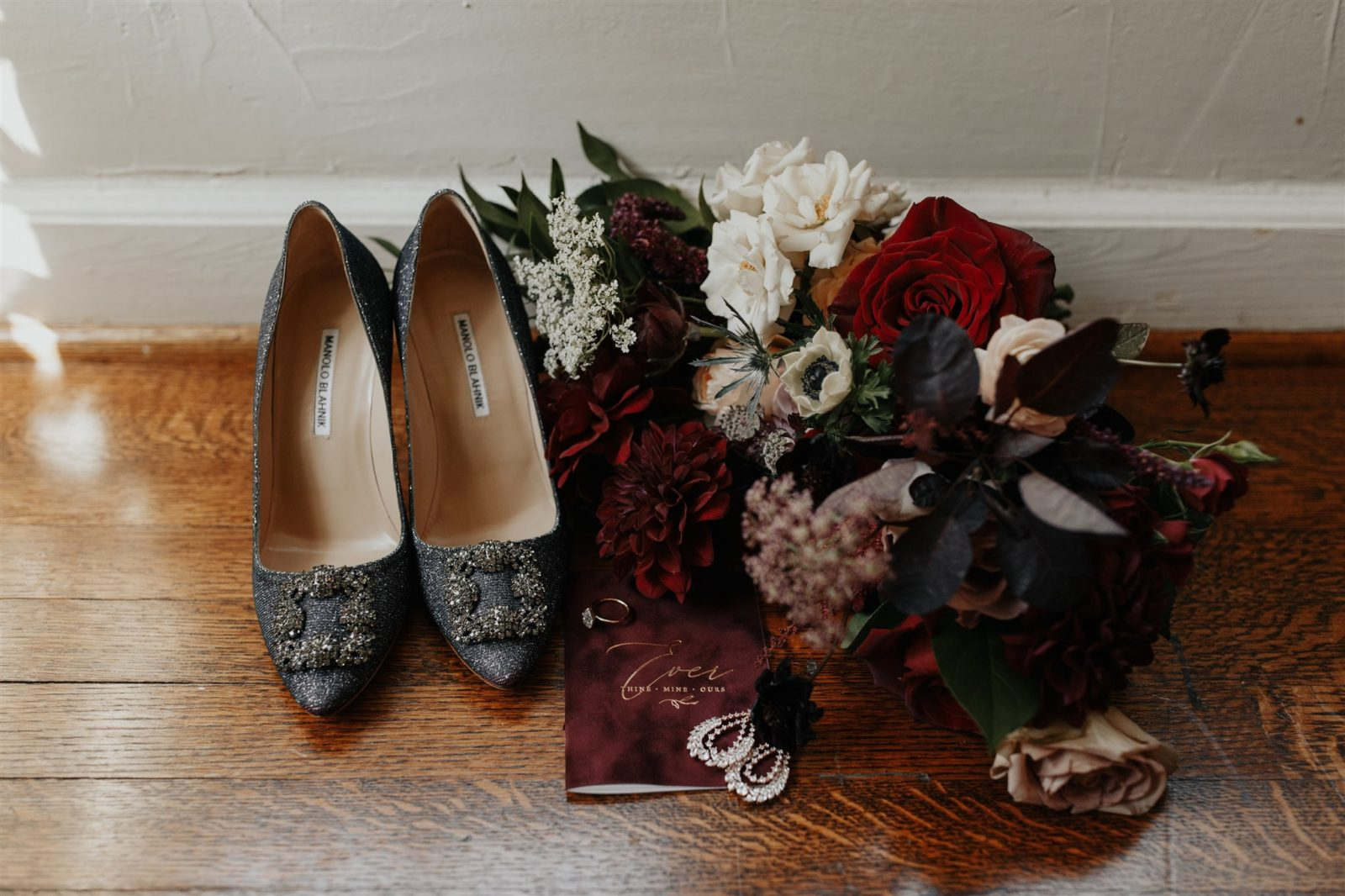 Bridal Accessories captured by Madeline Shea Photography