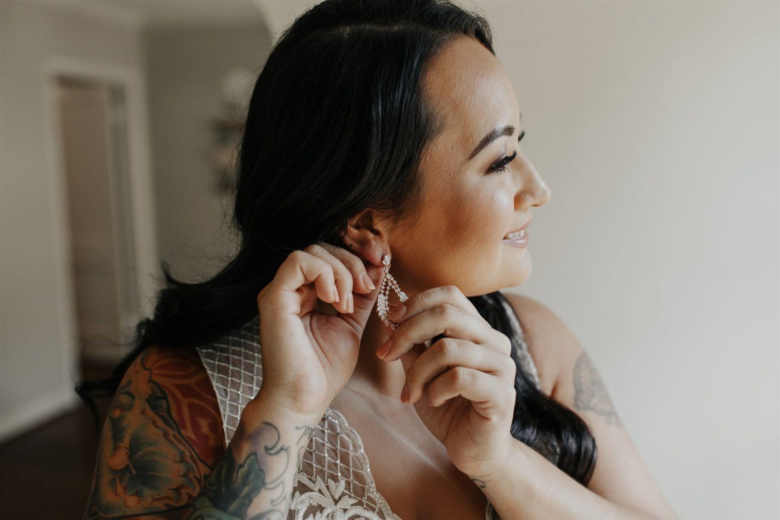 Bridal Portrait by DFW Wedding Photographer Madeline Shea