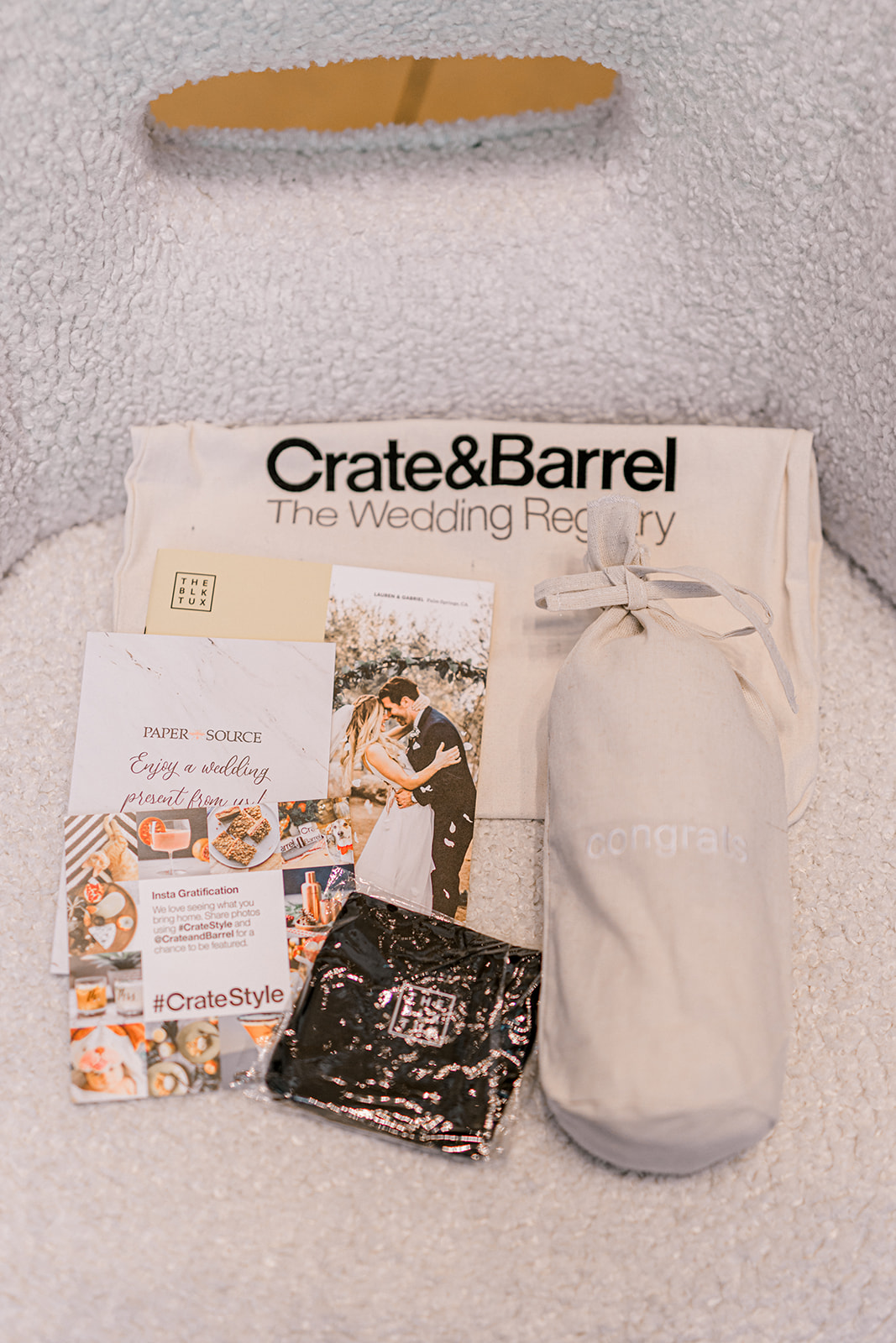 Spring wedding inspiration: Crate and Barrel Collaboration with Alexa Kay Events