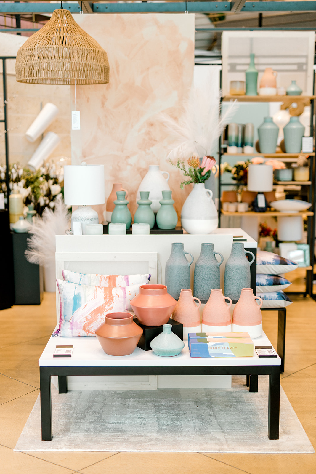 Spring wedding color ideas: Crate and Barrel Collaboration with Alexa Kay Events