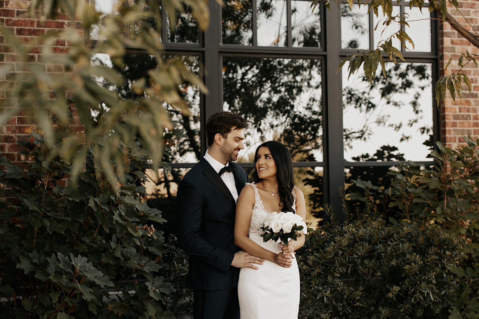 Black and White NOAH's Event Venue Wedding featured on Alexa Kay Events