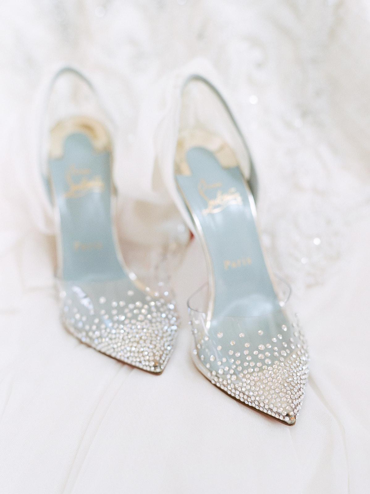 Louis Vuitton Bridal Shoes: Luxurious Knotting Hill Place Wedding