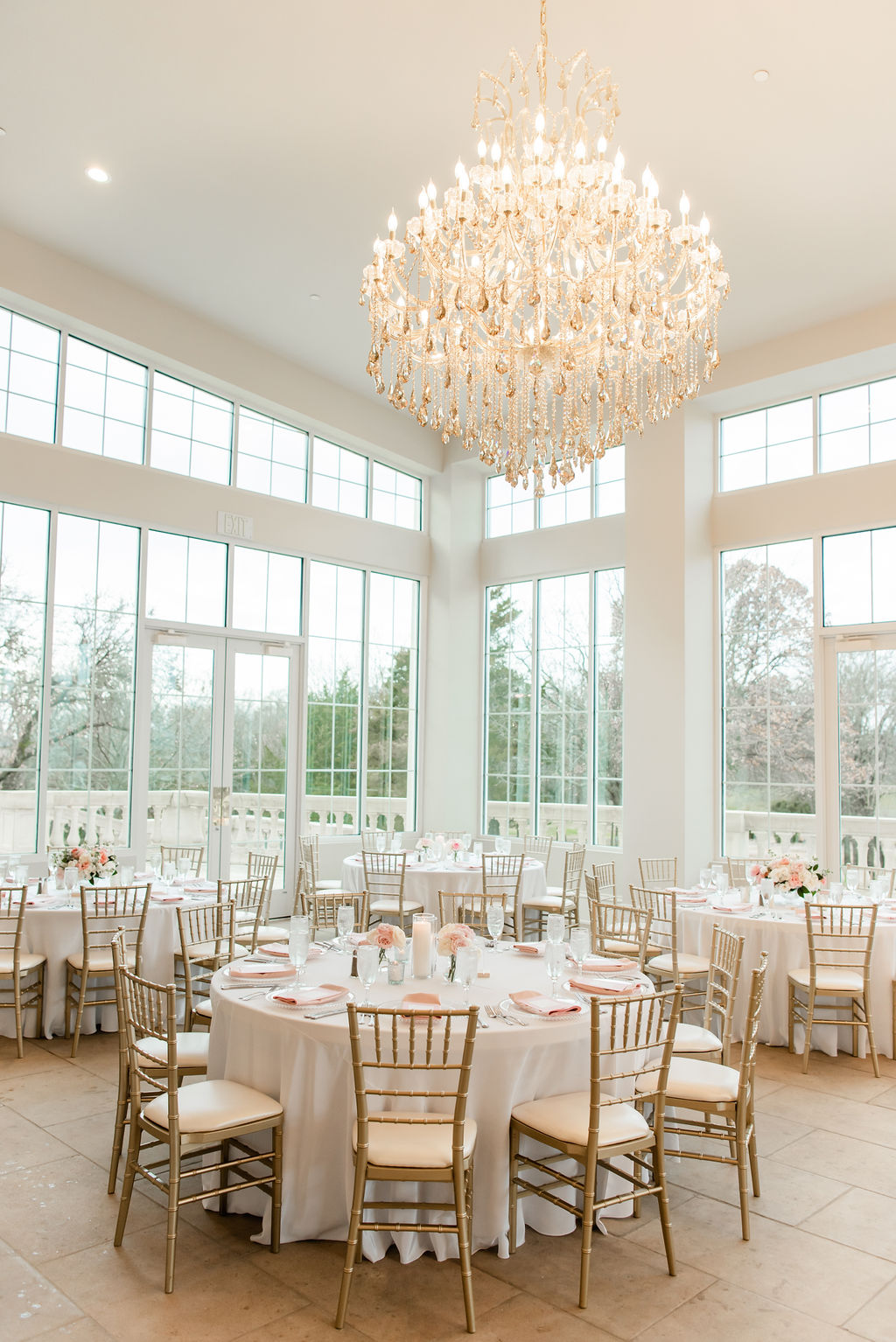 Dreamy Pink and Gray Wedding at The Olana