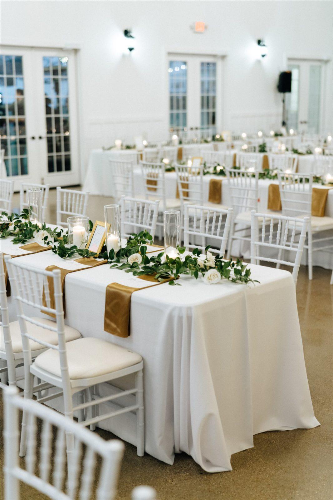 Elegant Wedding Decor: Simply Modern Firefly Gardens Wedding featured on Alexa Kay Events
