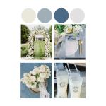 French Blue Wedding Inspiration Alexa Kay Events